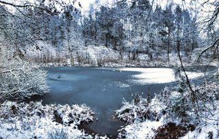 Ausfahrt im Schnee!